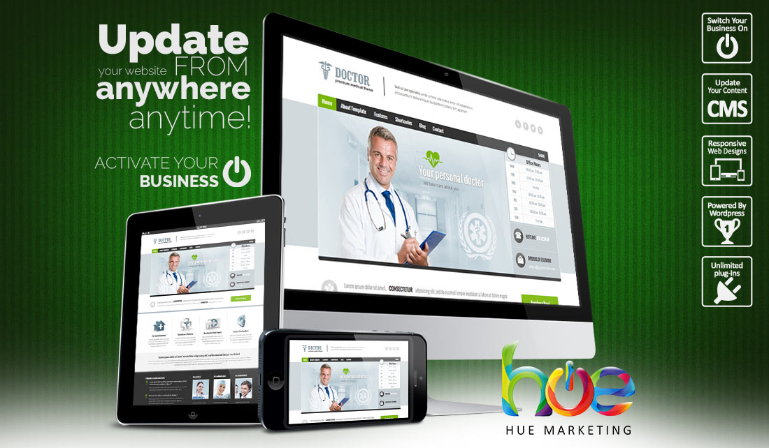doctors website design ideas hue marketing