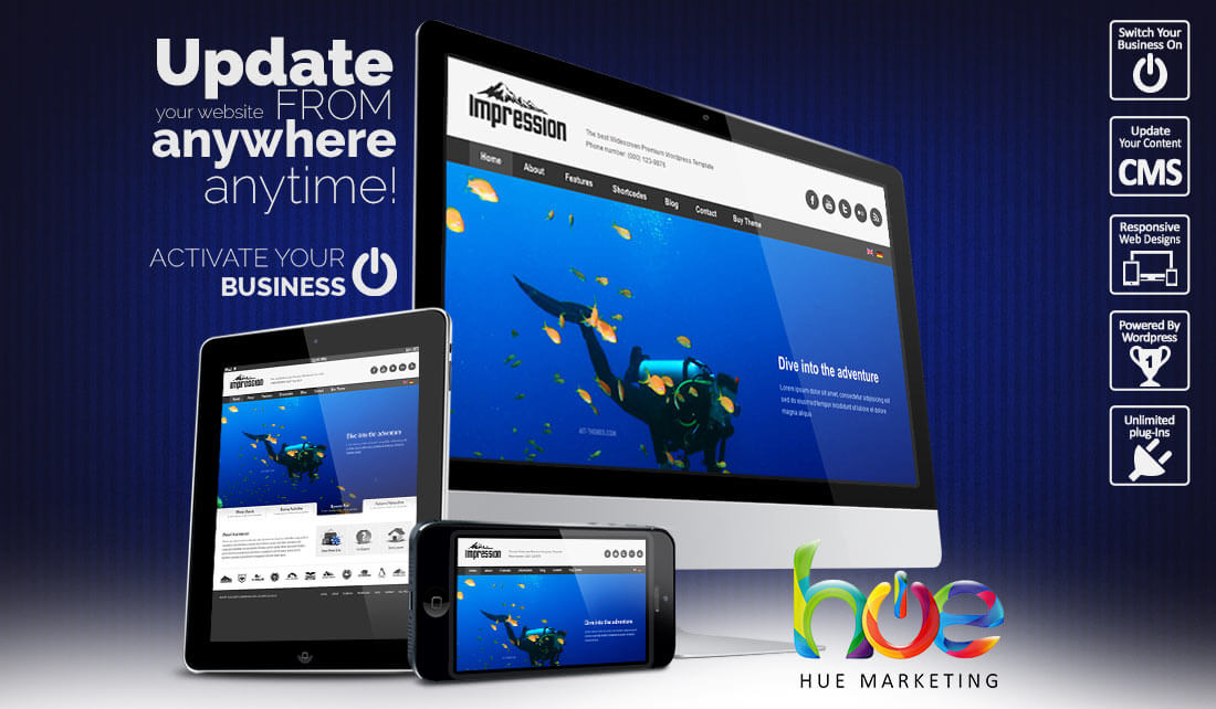 activity website design ideas hue marketing