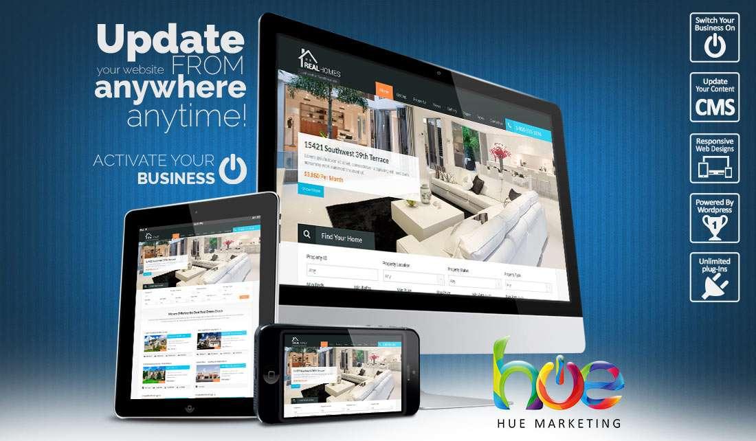 Property Website Design Ideas | Hue Marketing