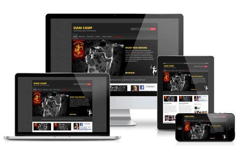 Siam Camp Website by Hue Marketing