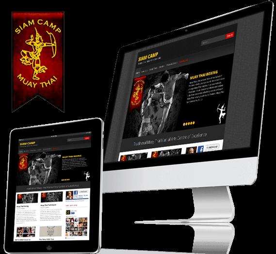 Siam Camp Website by Hue Marketing