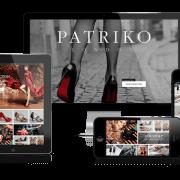 Patriko London Responsive Ecommerce Website Design