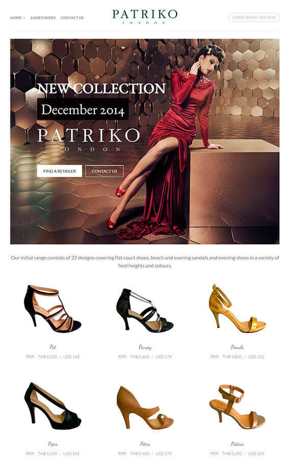 Patriko Shoes 2014 Collection