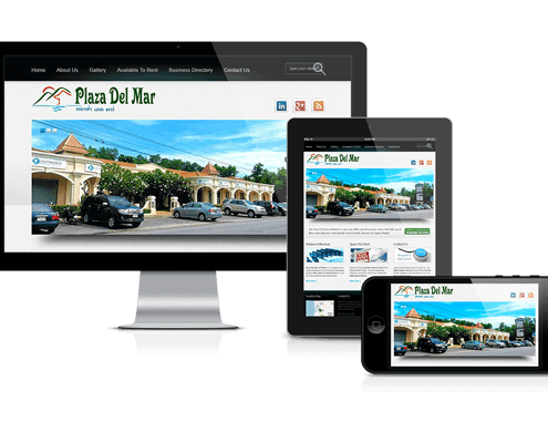 Plaza Del Mar Phuket Property Web Design