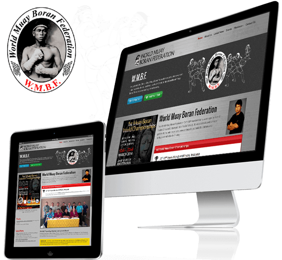 Word Muay Boran Federation Responsive Web Design