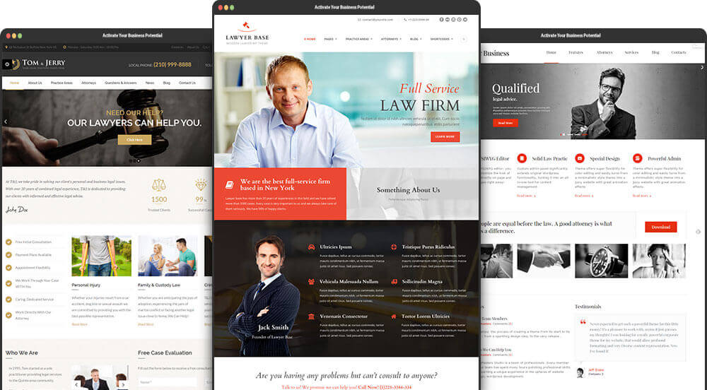 website design phuket law firms