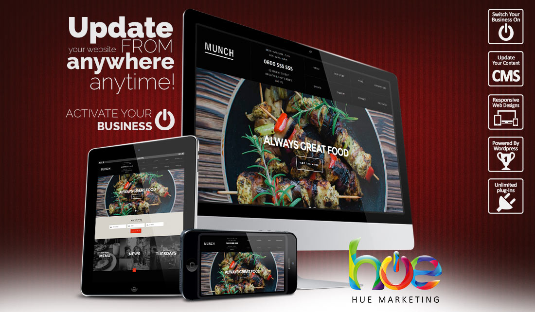 Restaurant Website Design Ideas | Hue Marketing