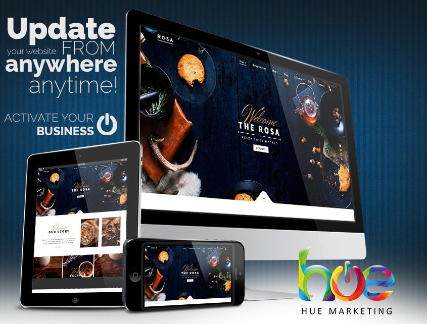 Phuket Restaurant Web Design Idea