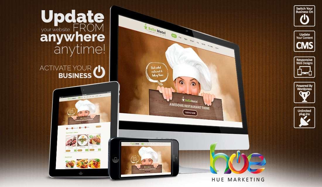 Restaurant Website Design Ideas | Hue Marketing