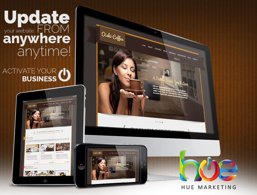 Phuket Cafe Web Design Idea