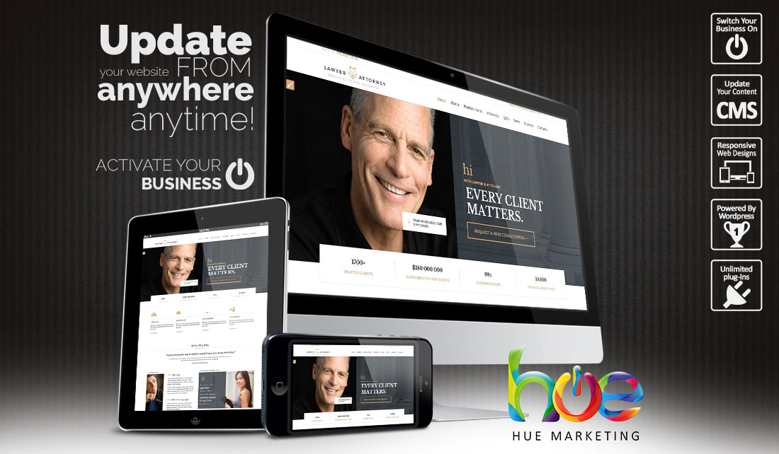 Lawyers Website Design Ideas | Hue Marketing