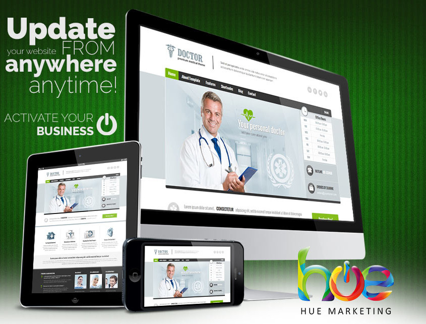 Doctors Clinic Phuket Website Design Ideas