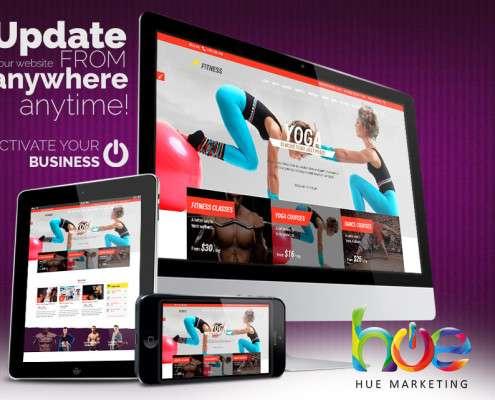 Phuket Yoga Fitness Website Design Ideas