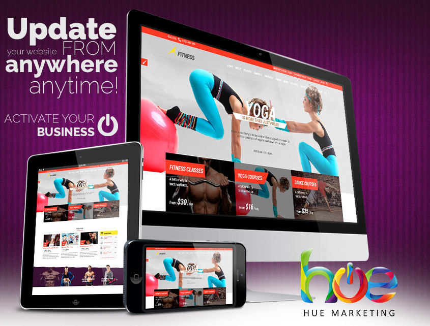 Phuket Yoga Fitness Website Design Ideas