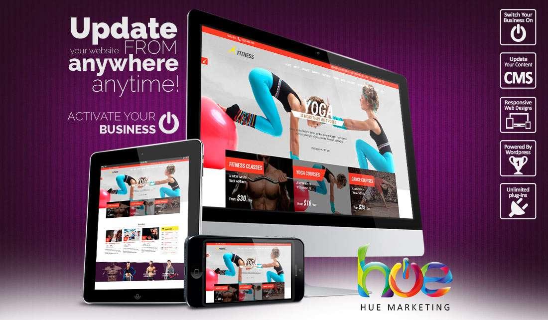 Activity website design ideas hue marketing for Sites ideas