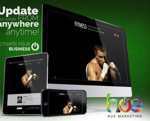 Muay Thai MMA Website Design Ideas