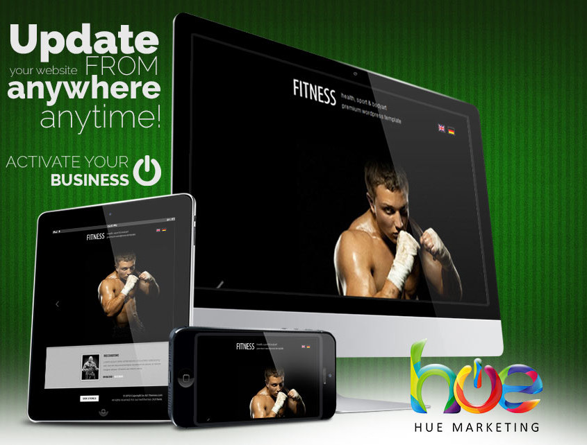 Muay Thai MMA Website Design Ideas