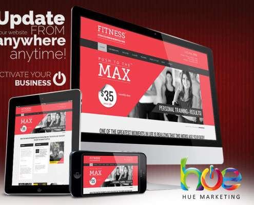 Keep Fit Website Design Ideas