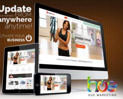 Fitness or Gym Website Design Ideas