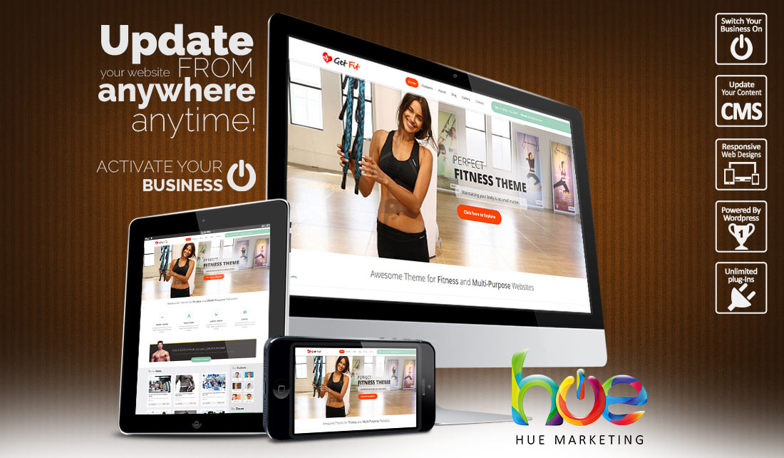 Activity Website Design Ideas | Hue Marketing