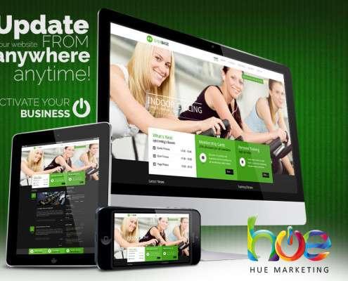 Keep Fit Phuket Website Design Ideas