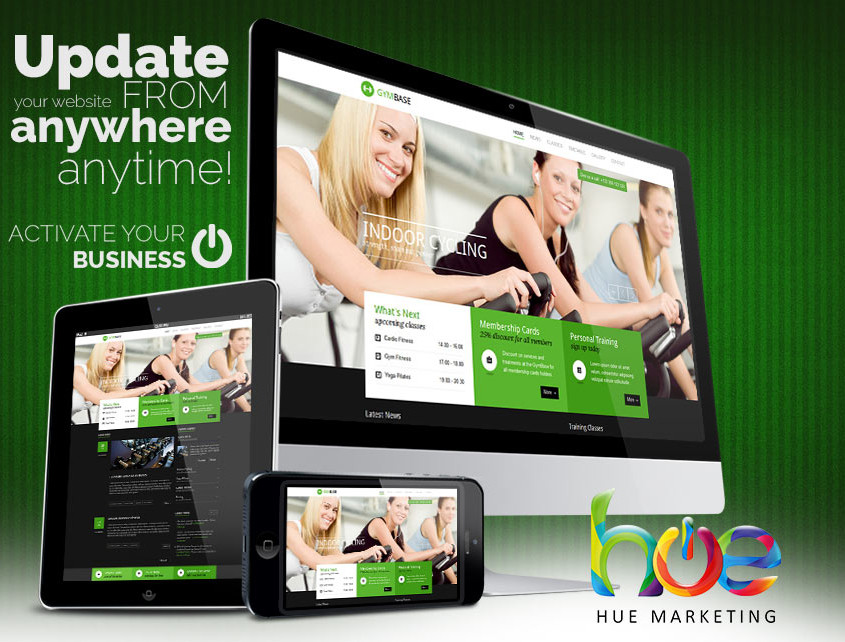 Keep Fit Phuket Website Design Ideas