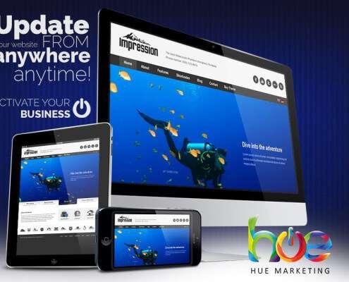 Scuba Diving Phuket Web Design Ideas