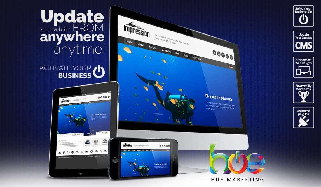 activity website design ideas hue marketing