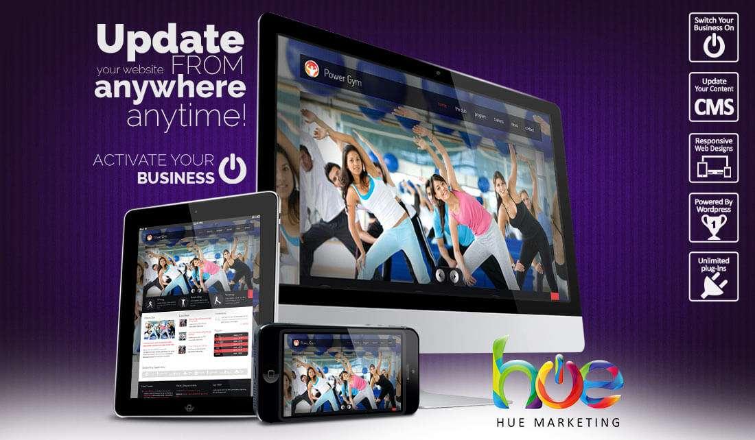 Activity Website Design Ideas | Hue Marketing