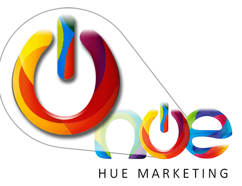 Hue Marketing Logo Design