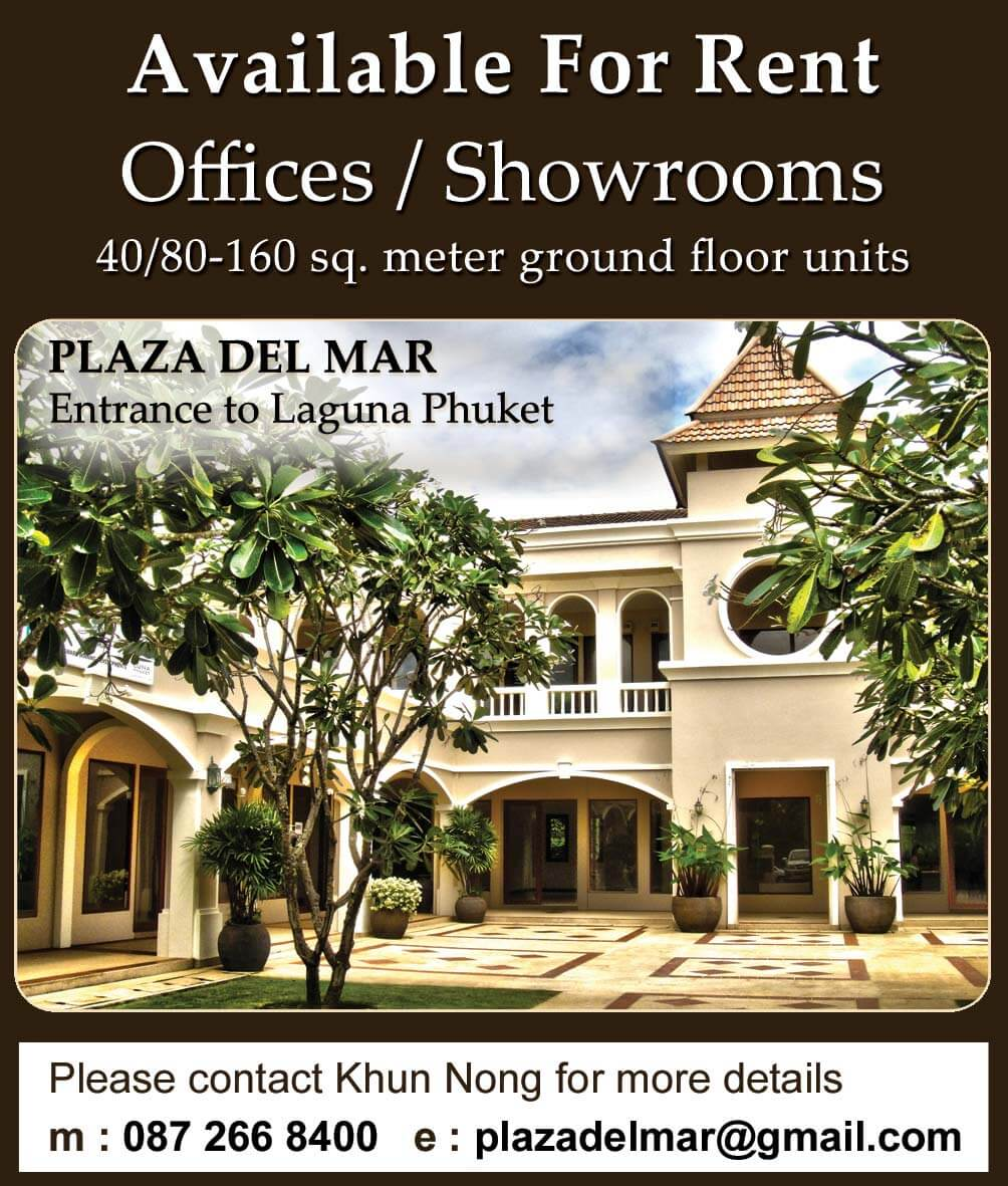 Plaza Del Mar Phuket 2 Column x 10cm Press Advert