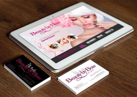 Beauty by bow cards flyers hue marketing beauty by bow phuket business cards colourmoves