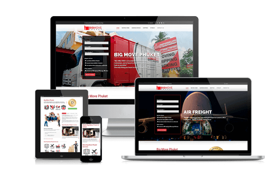 Website Redesign - BigMove Phuket by Hue-Marketing