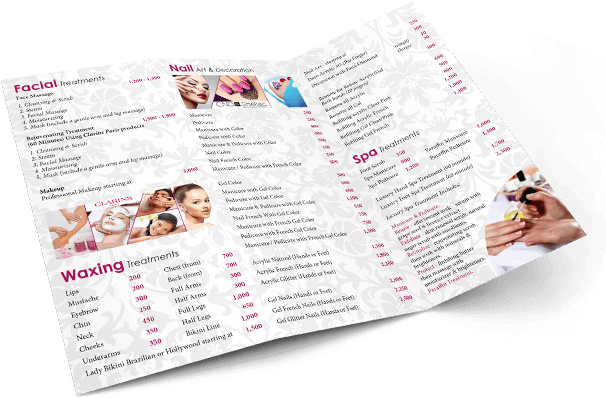 Tri-Fold brochure design by Hue Marketing