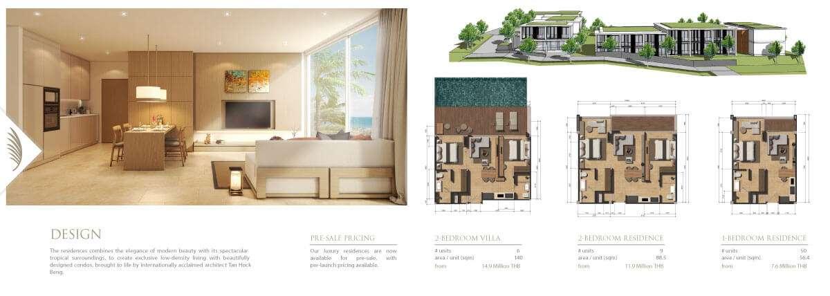 Phuket Propery Brochure Graphic Design   Hue Marketing