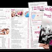 Tri-Fold Leaflet - Phuket Salon