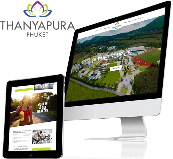 Thanyapura Phuket Website Re-Design