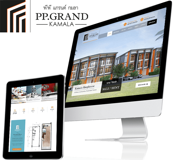 Website Design PP Grand Kamala
