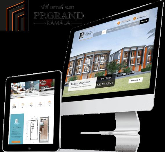 Website Design PP Grand Kamala