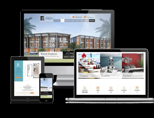 Phuket Property Website Design PP Grand Kamala