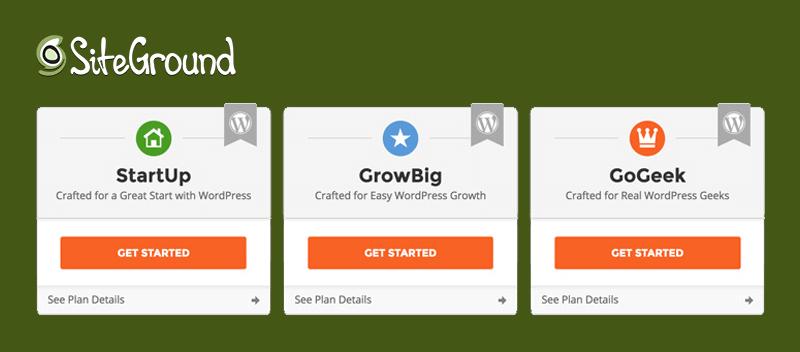 Siteground Website Hosting