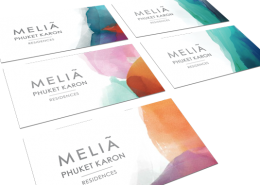 Melia Phuket Karon Business Cards