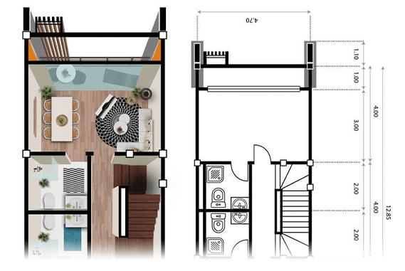 Isometric Property Floor Plans