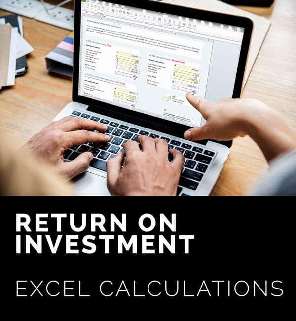 Return On Investments ROI Calculators
